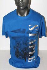 Staple S/S FOIL CITY T-SHIRT ROYAL BLUE 1704C9892