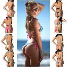 Coqueta Swimwar BRAZILIAN sexy bikini whaletail mini THONG BOTTOM SET Women's