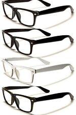 New Nerd Unisex Fashion Plastic Frame Clear Glasses (NO PRESCRIPTION) NERD010