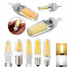 G4 G9 LED Bulb E12 E14 Dimmable Silicone Crystal COB Filament Light Lamp GL101