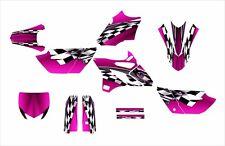 2015 2016 YZ 85 graphics Yamaha YZ85 decal kit #2500-Pink Free Custom Service