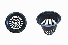 Net Cup Mesh Pots Hydroponics System Grow Kit Seed Cloning