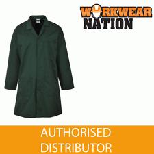 Portwest 2852 porteurs Entrepôt LABO style veste manteau vert bouteille