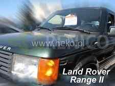 Windabweiser LAND ROVER RANGE 2 II 1994-2002 4-tlg HEKO dunkel Regenabweiser