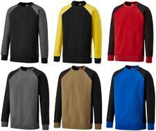 Dickies Two Tone Sweatshirt Mens Contrast Crew Neck Work Jumper S-4XL SH3008