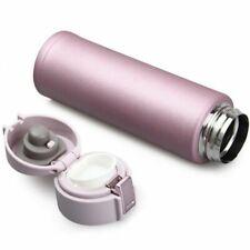 Thermosflasche 500ml Edelstahl Tragbar Isoliert Tasse Thermoses Wasser Halter