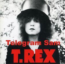T Rex Telegram Sam 1972 Album Cover Stretched Canvas Wall Art Poster Print CD