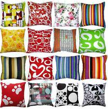 Home Decorative Sofa Square Cotton Canvas Fabric Cushion Cover/Pillow case