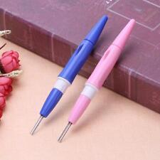 Needle Felting Handle Holder with 3 Needles Wool Felt Embroidery DIY Craft Tool