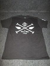 Hombre Auténtico DC Moda Informal Skate Camiseta S M L Xl Xxl Negro / blanco {