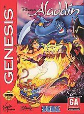Disney's Aladdin (Sega Genesis, 1993) - Game Only