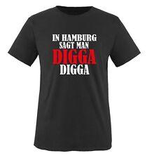 IN HAMBURG SAGT MAN DIGGA - Herren Unisex T-Shirt Gr. S bis XXL Versch. Farben