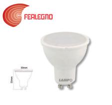 LAMPADA LAMPADINA A LED LUCE CALDA/FREDDA/NEUTRA GU10 7W 230V DIKLED7 LAMPO