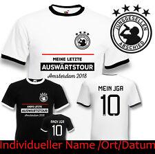 T-Shirt JGA Bräutigam Hangover Junggesellenabschied Retro Trikot Auswärtstour