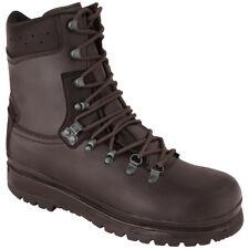 Highlander Elite Forces Boots Military Waterproof Leather Mens Footwear Brown