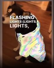 Dog Waterproof Outdoor Raincoat Warm Jacket Reflective Coat Eye Catching
