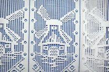 Scheibengardine,Bistrogardine,Meterware,Cafehausgardine,Mühle/45/60/80cm
