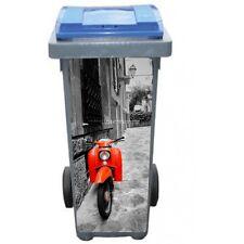 Stickers poubelle déco Vespa 3212
