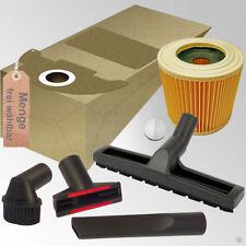 Staubsaugerbeutel Set Filter Bodendüse Düsenset Auswahl passend für Kärcher WD 2