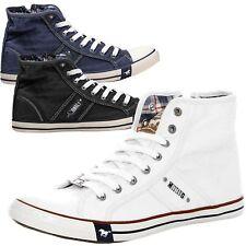 Mustang Herren Schuhe Herrenschuhe Sneaker Turnschuhe Freizeitschuhe 4058-504