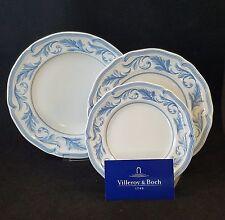 Villeroy & Boch Casa Azul Ornato Salad,Bread & Butter, Rim Soup Plate *New*