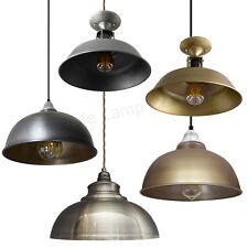 Modern LED Vintage Antique Pendant Hanging Ceiling Shades Metal Body