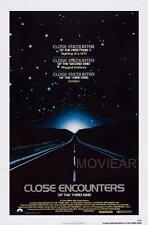 Encuentros Cercanos Del Tercer Tipo Movie Poster Película A4 A3 Art Print Cine
