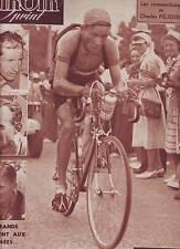 24/07/50 miroir sprint n°215 TOUR DE FRANCE 1950 DUSSAULT