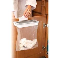 Kitchen Cabinet Door Basket Hanging Trash Can Waste Bin Garbage Rack Tool high
