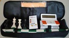 Tournament XX Chess Pieces Vinyl Board Bag Digital Clock Timer DGT 960 Set