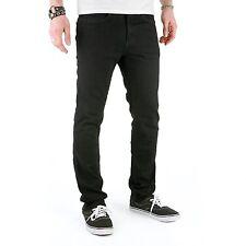 SUPERSLICK Pantaloni stretto aderente nero - Jeans per donne U Uomo