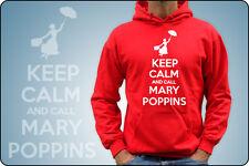 FELPA UNISEX KEEP CALM AND CARRY ON - KEEP CALM AND CALL MARY POPPINS SOS TATA