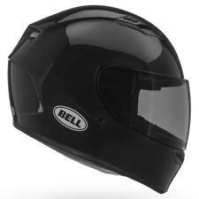 New Bell Qualifier STD Solid Black Sports Full Face Motorcycle Motorbike Helmet