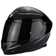 Casco Modular Scorpion Exo 920 Solid Negro Brillante