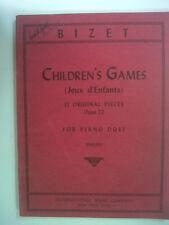 PIANOFORTE Bambini Bizet S giochi, IMP