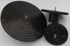 Disco de plan 90 o. 120 o. 200 mm con tornillos forro m33 torneados instruccio