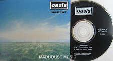 OASIS CD Whatever 3 Track AUSTRALIAN PROMO Unplayed
