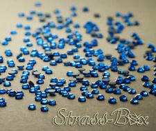 DMC Hotfix Strass Capri Blue ss10 numero di pezzi selezionabile AAA Qualità Blu