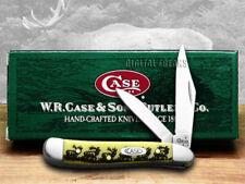 CASE XX Yellow Elk Peanut 1/1000 Pocket Knives