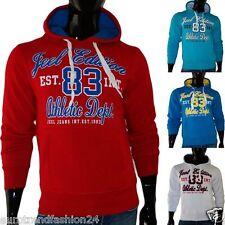Herren Sweatjacke Sweatshirt Jacke Pulli Pullover Hoodie Pullunder Hoody S-XXL