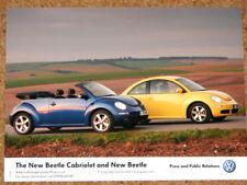 2006 VW Beetle & Beetle cabriolet original press photo