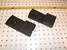 Mercedes W108,109,114,Late W111 seat belts BLACK  plastic OEM 1 set of 2 Holders