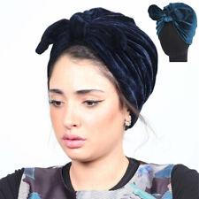 Kaninchenohren Turban Indischer Hijab Chemo Kappe Samt Hut Bowknot Kappe