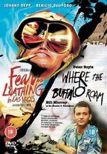 Fear and Loathing in Las Vegas/Where the Buffalo Roam DVD (2005) Bill Murray