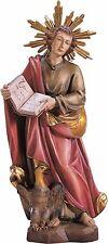San GIOVANNI EVANGELISTA in legno, St. JOHN EVANGELIST woodcaved, Hl.JOHANNES