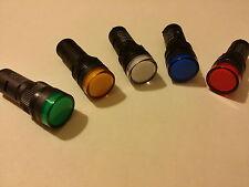 Voyant industriel à LED φ16 de marque APT  Couleur et voltage au choix CE neuf