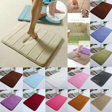 Absorbent Soft Memory Foam Mat Bath Bathroom Bedroom Floor Shower Rug Decor