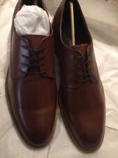 Aston Grey Adayde Oxford Cognac/Brown Laces Men's Shoes New Original Value $175