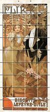 36 Tiles Art Nouveau Ceramic Mural Backsplash Bath Tile #610