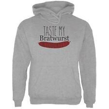 Oktoberfest Taste My Bratwurst German Mens Hoodie